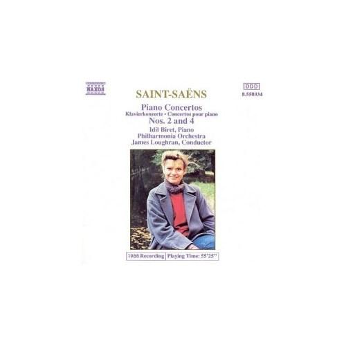 Saint-Saens Piano Concertos Nos.2&4 (Cd)