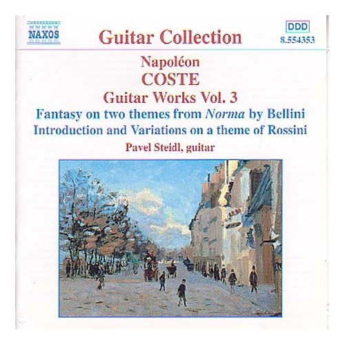 Napoleon Coste - Guitar Works Vol. 3 (Cd)