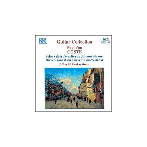 Napoleon Coste - Seize Valses Favorites De Johann Strauss Cd