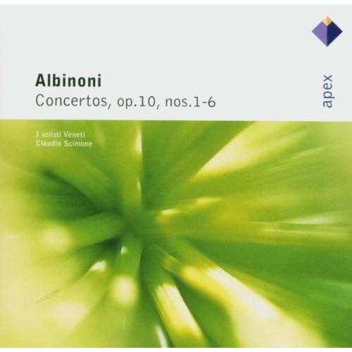 Albinoni - Concertos Op. 10 Nos. 1 - 6 (Cd)