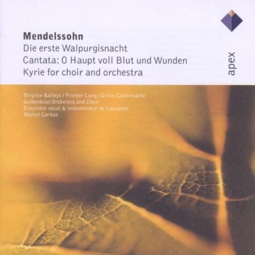Mendelssohn - Die Erste Walpurgisnacht, Op. 60 Cd
