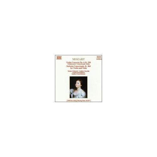 Mozart - Violin Concerto No. 4, K. 218 - Sinfonia Concertante, K. 364 Cd
