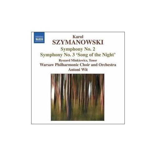 Szymanowski - Symphonies Nos. 2 And 3 (Cd)