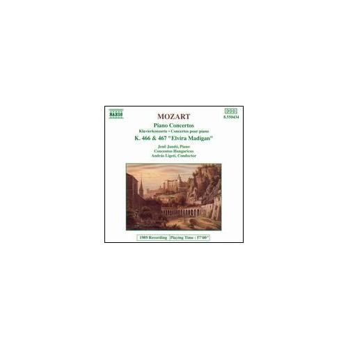 Mozart - Piano Concertos No. 20, K. 466 & No. 21, K. 467 Cd