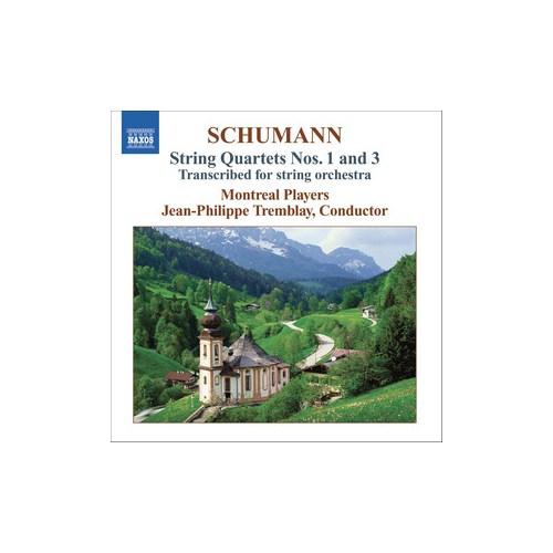 Schumann - String Quartets Nos. 1 And 3 (Cd)