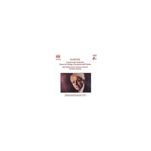 Bartok - Concerto For Orchestra - Music For Strings, Percussion And Celesta Cd