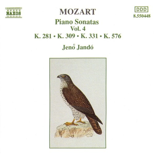 Mozart - Piano Sonatas Vol.4 - K.281, K.309, K.331, K.576 Cd