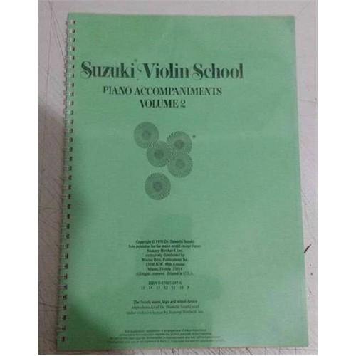 Suzuki Violin School Piano Accompaniments Volume