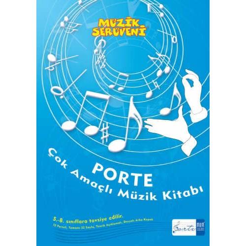 Porte Çok Amaçlı Müzik Defteri 5-8.Sınıf