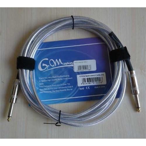 G.Master Gm24 (3M) Gümüş Renk Enstrüman Kablosu