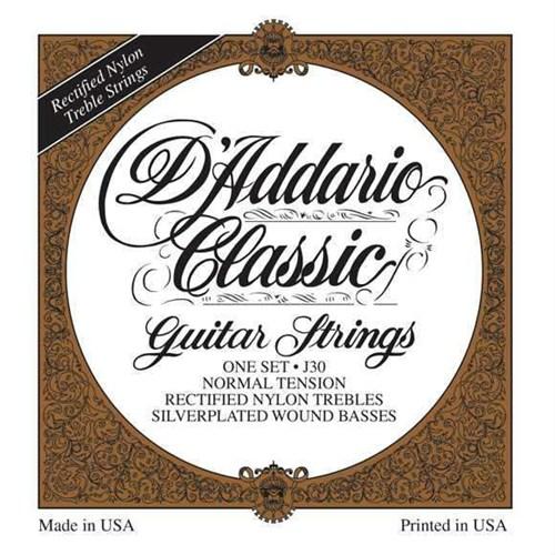 Daddario J30 Normal Tension Klasik Gitar Teli