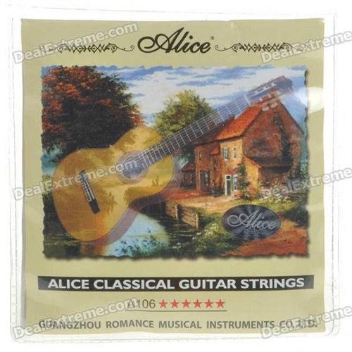 Alice Klasik Gitar Teli Hard Tension A-106