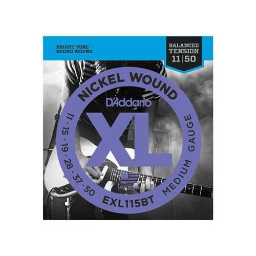 Elektro Gitar Set Daddario Exl115Bt
