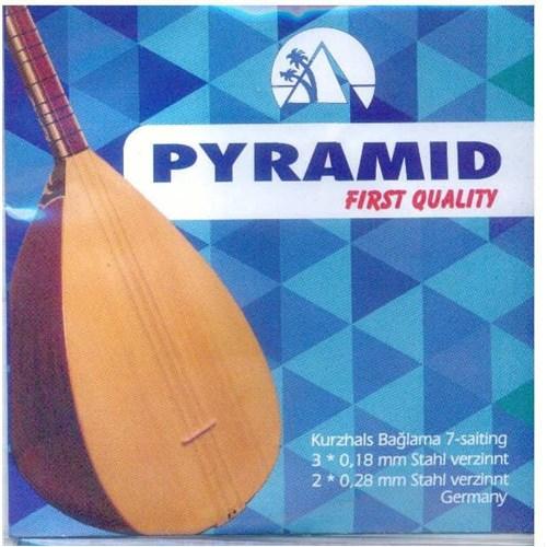 Pyramid Premium Kısa Sap Saz Teli