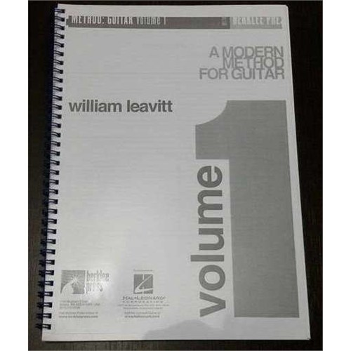 William Leavitt Modern Metod Gitar Volume 1