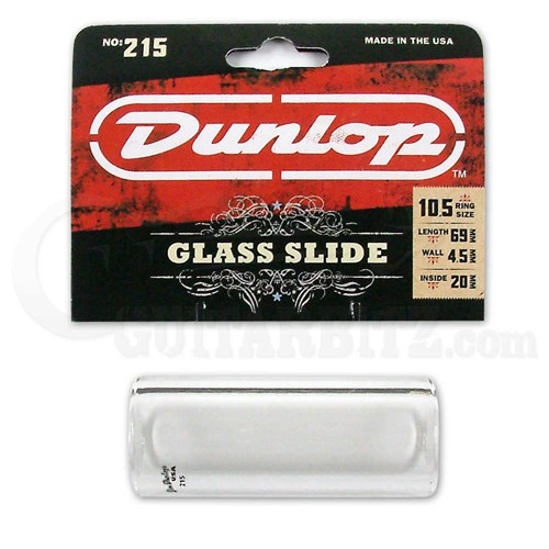 Jim Dunlop 215 Tempered Glass Slide Heavy Wa