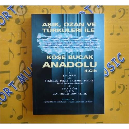 Türkü Repertuar Kitabı Cilt 4
