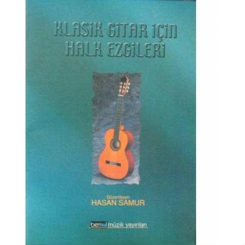 Klasik Gitar İçin Halk Ezgileri Bmy-043