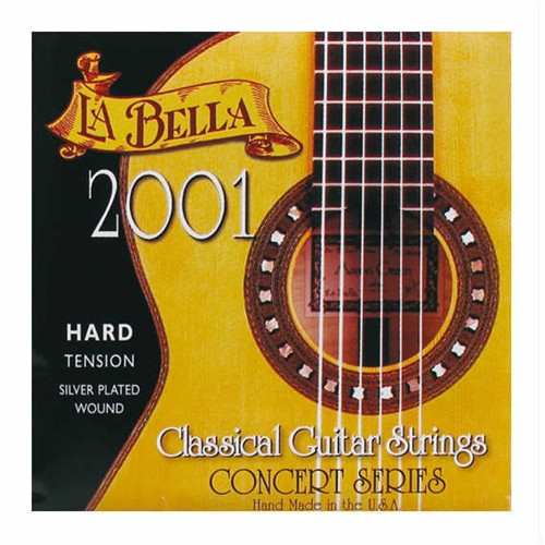 La Bella 2001-Hard Tension Klasik Gitar Teli