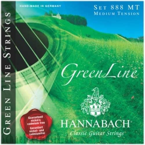 Hannabach Green Line 888 Mt Klasik Gitar Tel