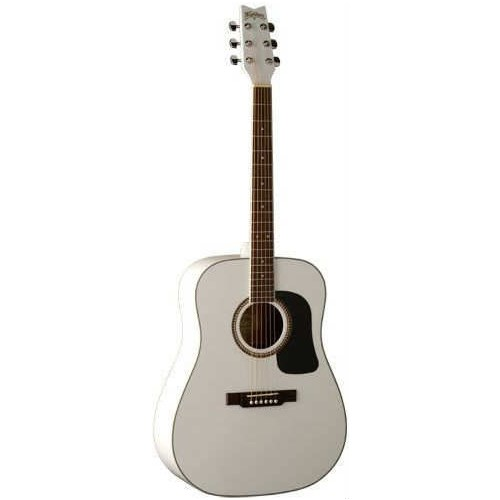 Washburn Wd10S Wh Beyaz Akustik Gitar