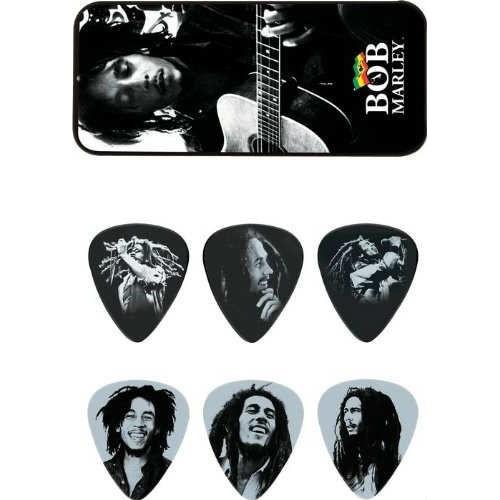 Jim Dunlop Bob Marley Silver-Özel Kutulu 6'Lı