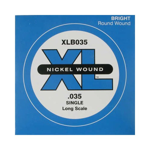 Daddario Xlb035 Single Nickel Wound Tek Bas Teli