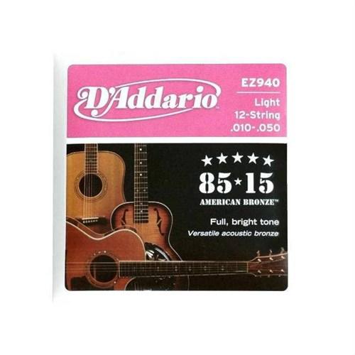 Daddario Ez940 12 Telli Akustik Gitar Teli
