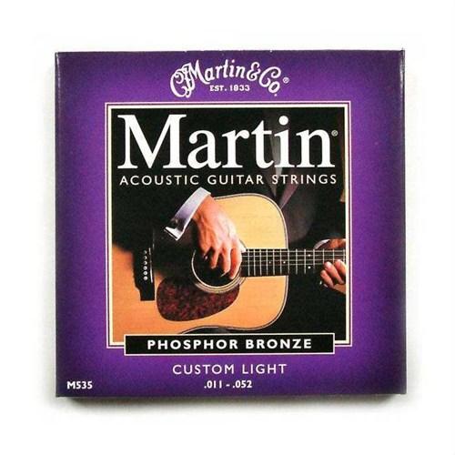 Martin M535 Akustik Gitar Teli Phosphor Broz