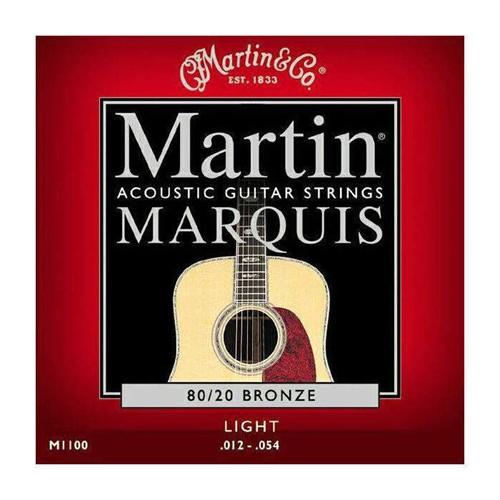 Martin M1100 Bronze Light Akustik Teli 012