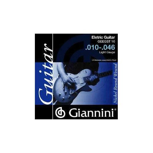 Giannini Geegst Elektro Gitar Teli 010