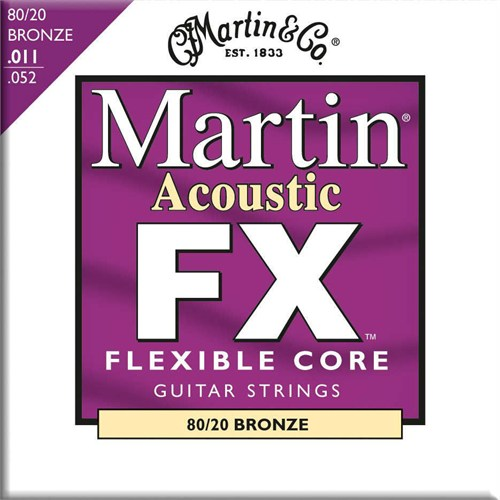 Martin Mfx675 Fx 80/20 Akustik Tel Bronze