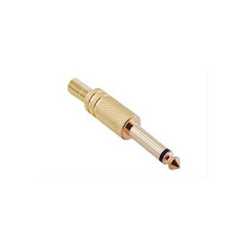 Uptech 6.3Mm Stereo Erkek Jack Gold - Ks204