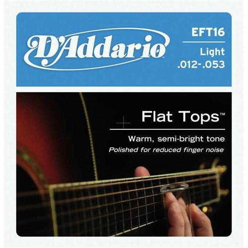 Daddario Eft16 Akustik Gitar Teli (012)