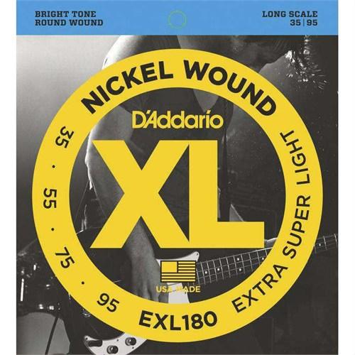 Daddario Exl180 Bas Gitar Tel Set