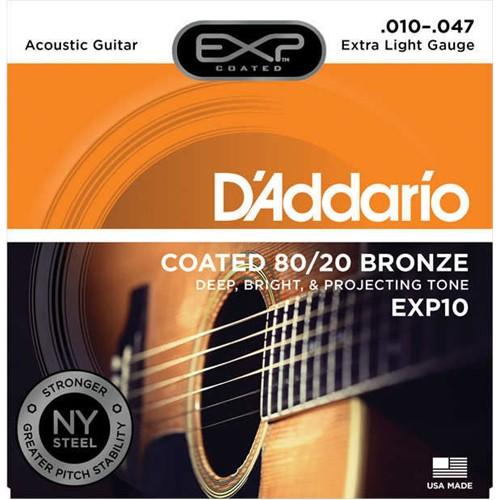 Daddario Exp10 Akustik Gitar Teli (010)