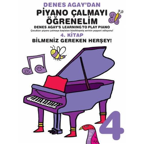 Denes Agay - Piyano Çalmayı Öğrenelim 4