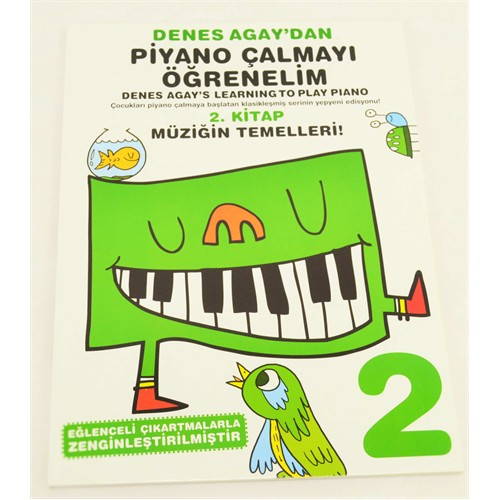 Denes Agay Piyano Çalmayı Öğrenelim 2