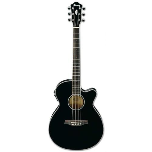 Ibanez Aeg10Iı-Bk Elektro Akustik Gitar
