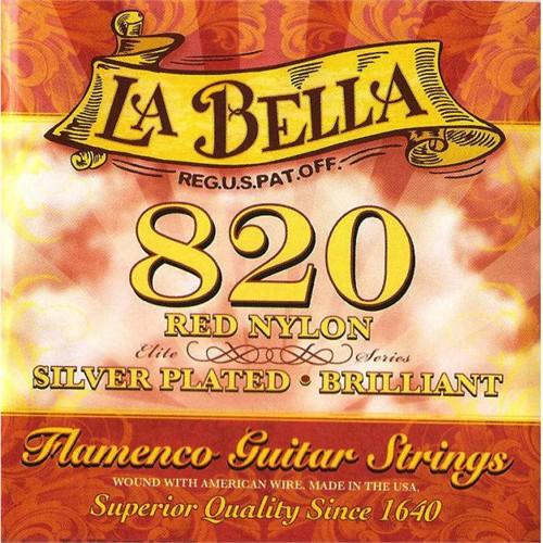 La Bella 820 Flamenco Gitar Set Takım Tel