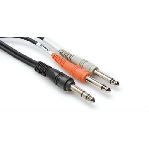 "Hosa Stp-202 1/4"" Trs (Erkek) Dual Insert Kablo 2"