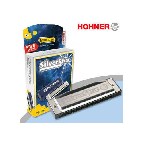 Hohner Yeni M50401X Mızıka Silver Star C Do
