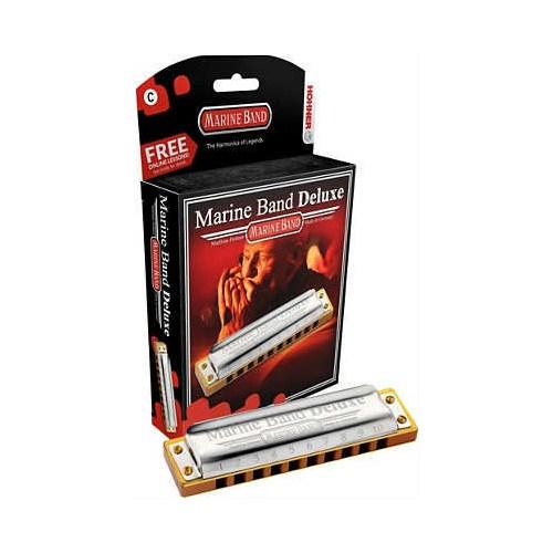 Hohner Marine Band Deluxe D (Re) Mızıka M200503X