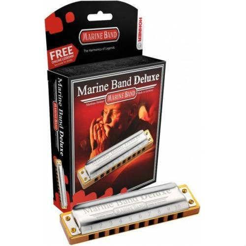 Hohner Marine Band Deluxe E (Mi) Mızıka M200505X