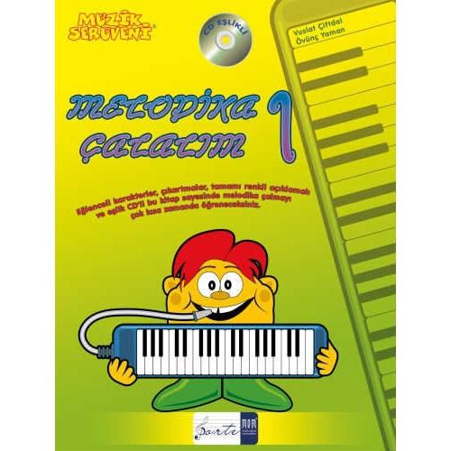 Müzik Serüveni / Melodika Çalalım 1 (Renkli)
