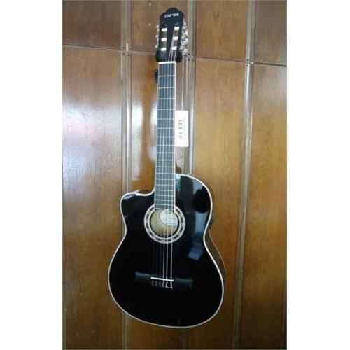 Clariss Ccg-100Celh/Bk Solak Elektro Klasik Gitar Siyah