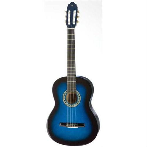 Valencia Cg16034 Bus 3/4 Klasik Gitar Mavi