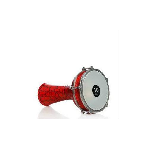 Darbuka Kırmızı Çatlak Boya Vd-142K Vatan