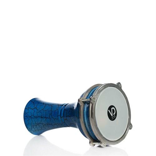 Darbuka Çatlak Boyalı Alüminyum Vd-141M Mavi