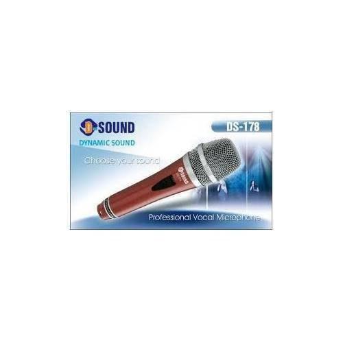 D-Sound 36916 Ds-178R Kablolu Mikrofon